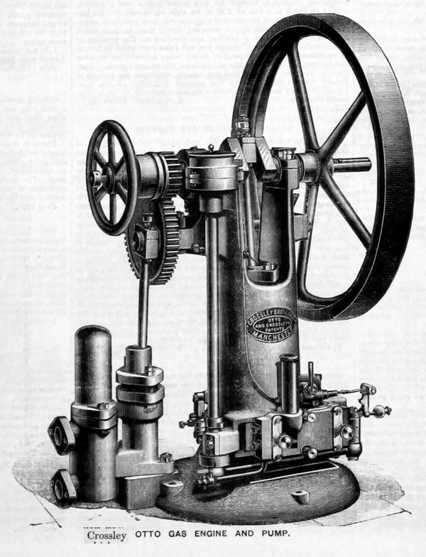 Crossley gas engine