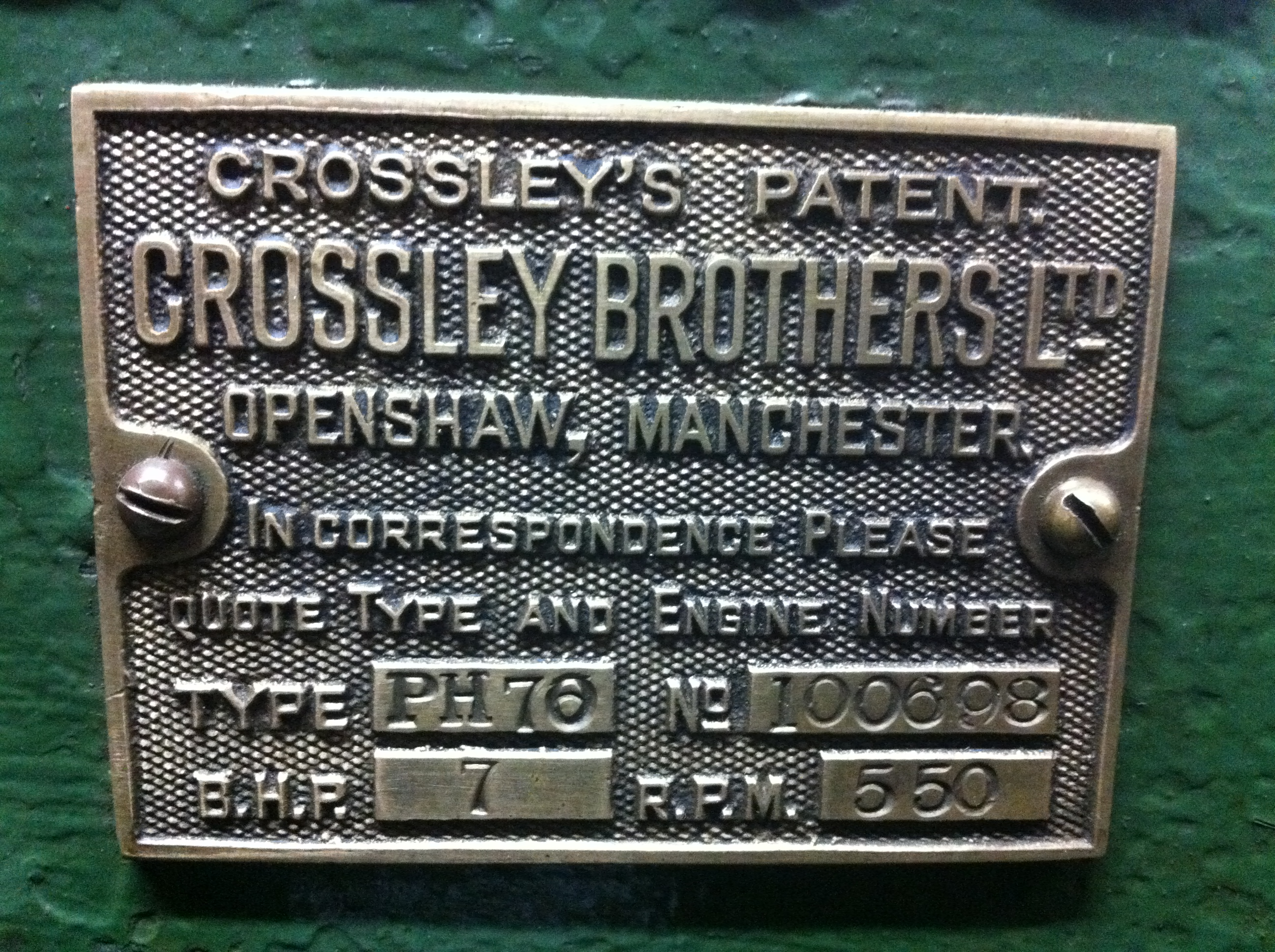 Crossley PH70 7